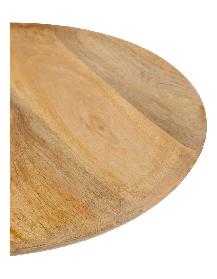 Handmade Natural Mango Wood Tray 45cm image 2