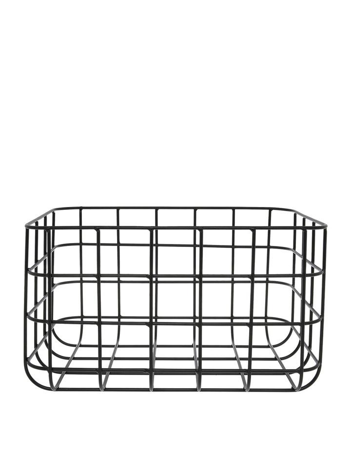 Wire Grid Basket 30x20x16cm image 1