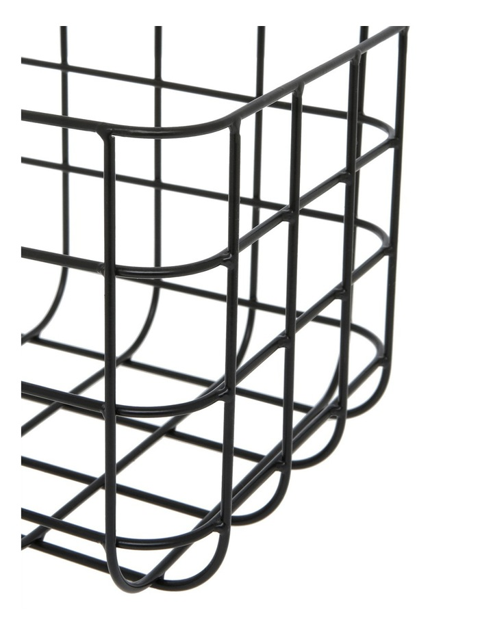 Wire Grid Basket 30x20x16cm image 2