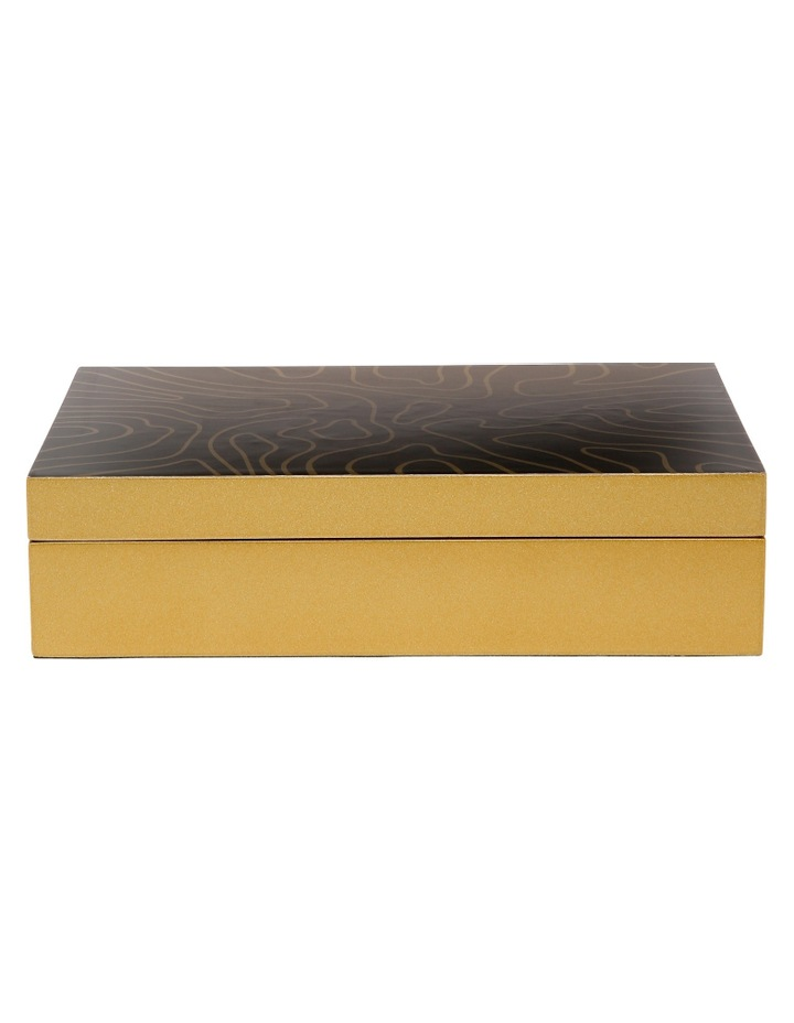 Jewellery Box with Gold Decal image 1