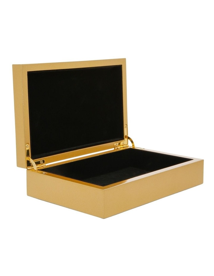 Jewellery Box with Gold Decal image 2