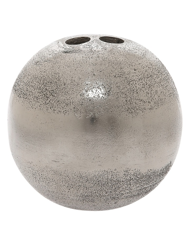 Silver Deco Ball 7cm image 1