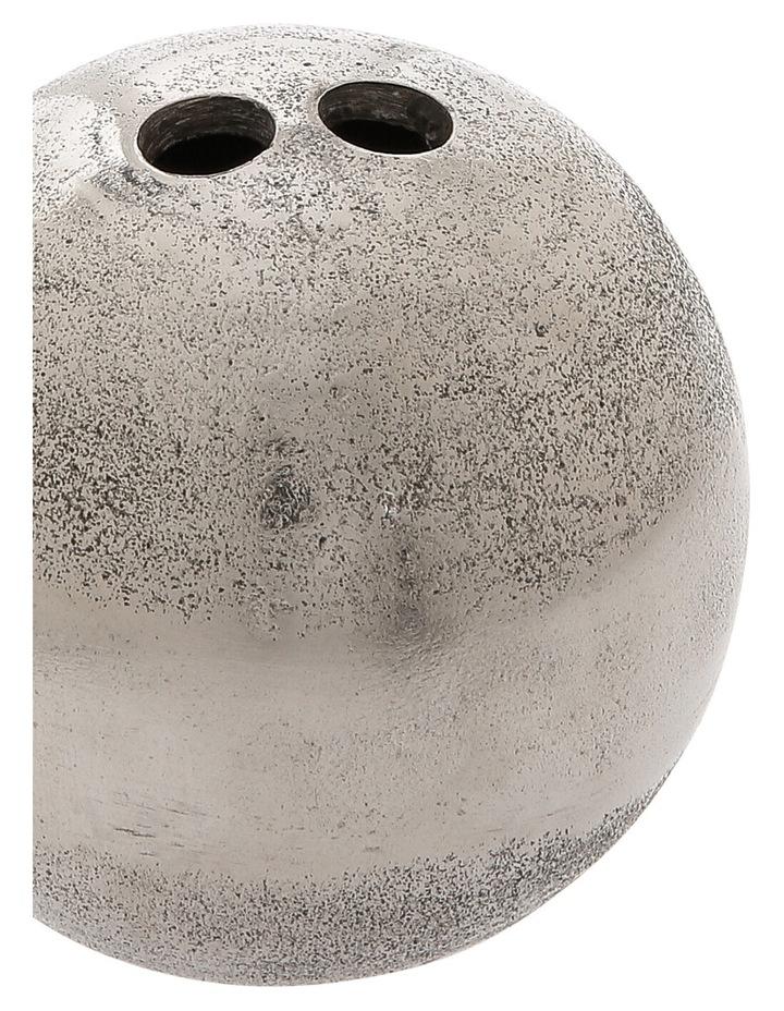 Silver Deco Ball 7cm image 2