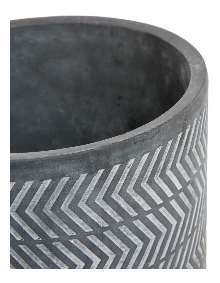 Cement Planter On Stand Large 25x25x32 image 2