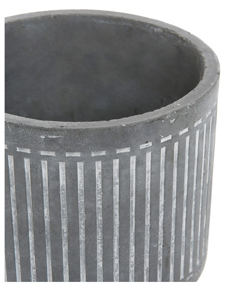 Cement Planter On Stand Medium 15.5x15.5x20.5 image 2