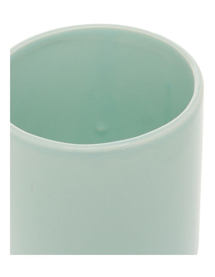 Ceramic Planter Blue 11x13cm image 2