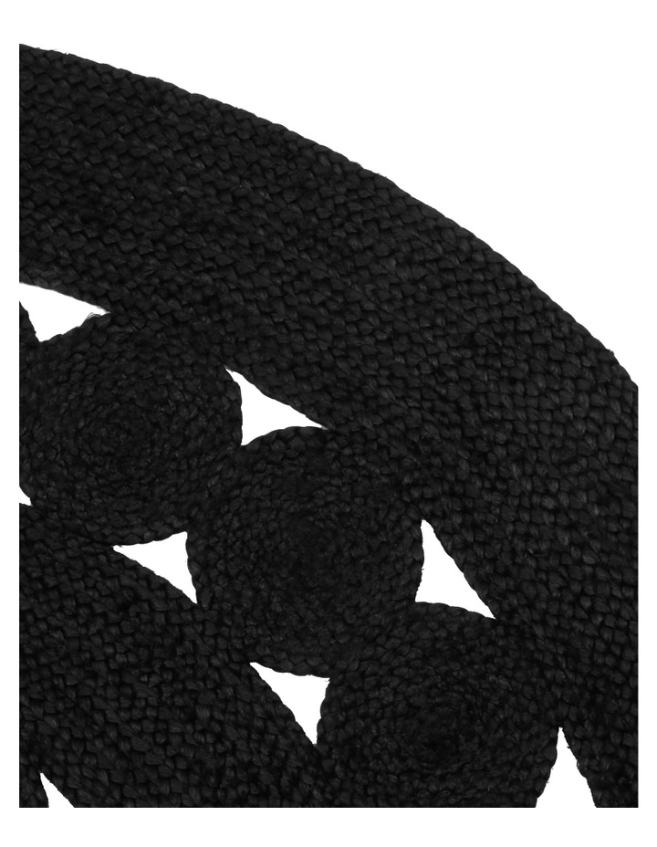 Cut-out Round Jute Rug 150cm image 2