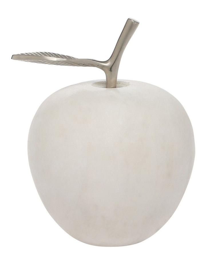 White Marble Apple image 1