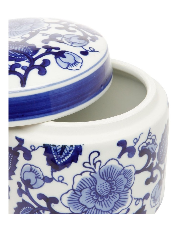 Hand-painted Cylindrical Canister image 2