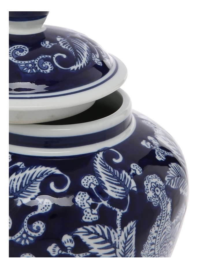 Hand-painted Round Ginger Jar image 2