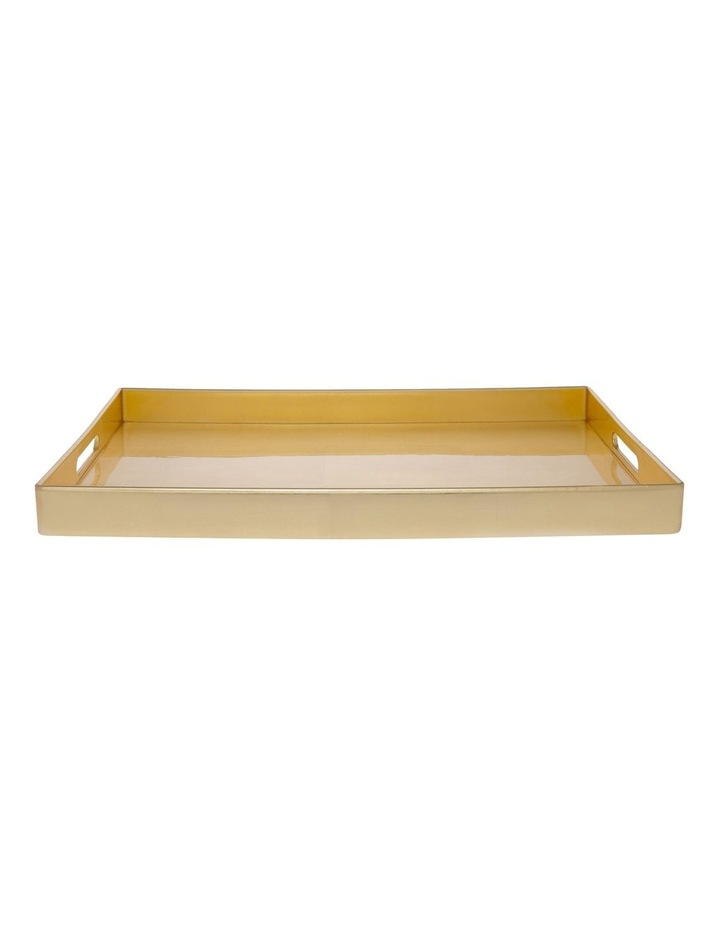 Rectangle Tray Gold image 1