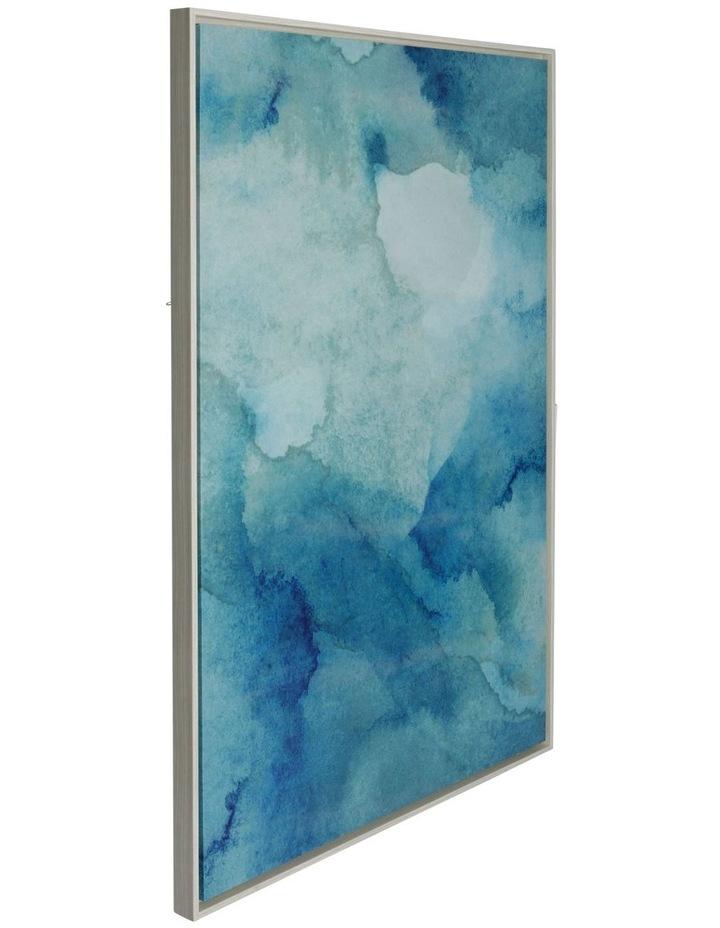Ocean Aqua Framed Canvas Print (80x120cm) image 2