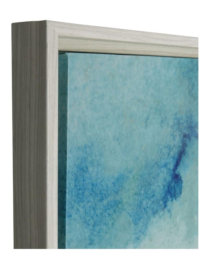 Ocean Aqua Framed Canvas Print (80x120cm) image 3