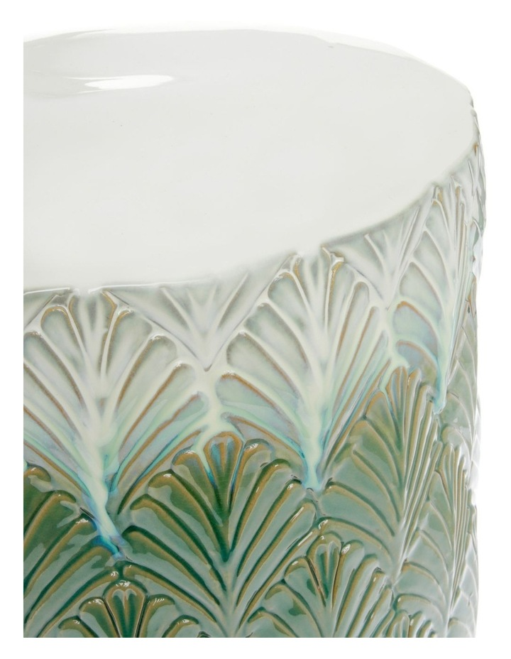 Embossed Ceramic Stool image 2