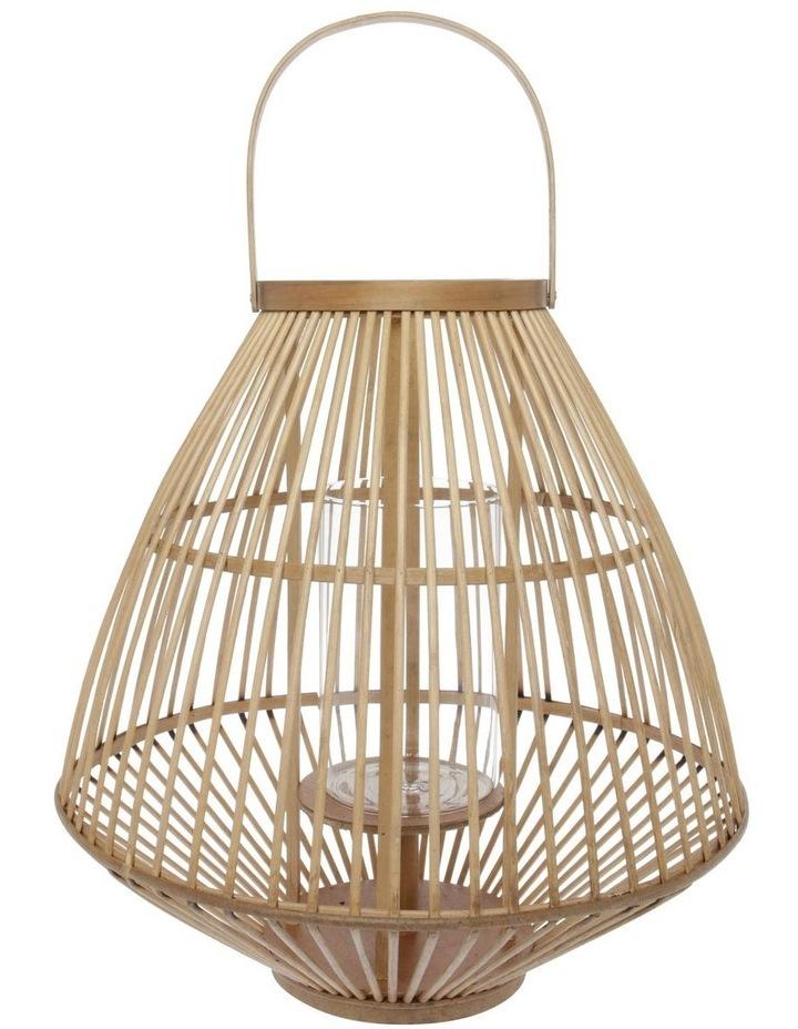 Natural Bamboo Lantern - 46cm image 1