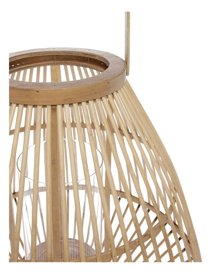 Natural Bamboo Lantern - 46cm image 2