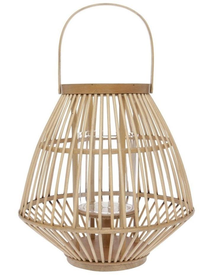 Natural Bamboo Lantern - 36cm image 1