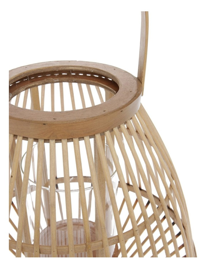 Natural Bamboo Lantern - 36cm image 4