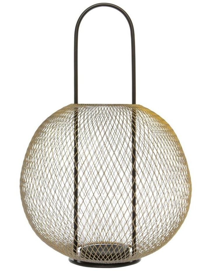 Wire Mesh Ball Lantern 30.5cm image 1
