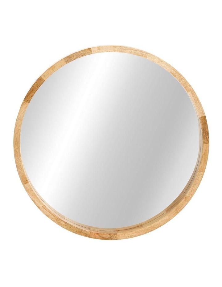 Mango Wood Mirror 70cm image 1