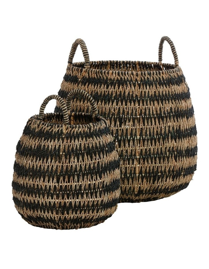 Round Arrow Weave Basket image 1
