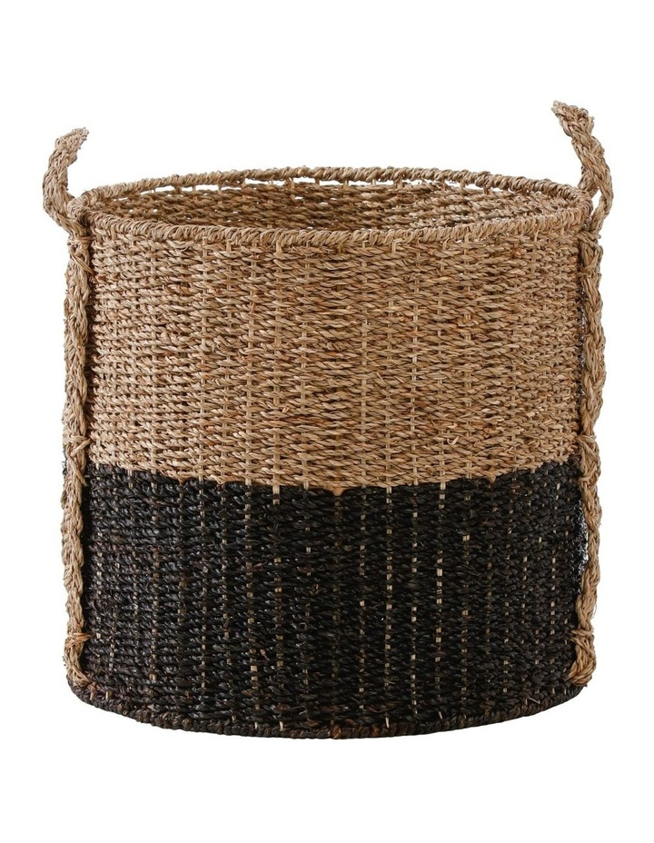 Two-tone Seagrass Basket image 2