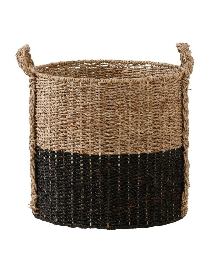 Two-tone Seagrass Basket image 3
