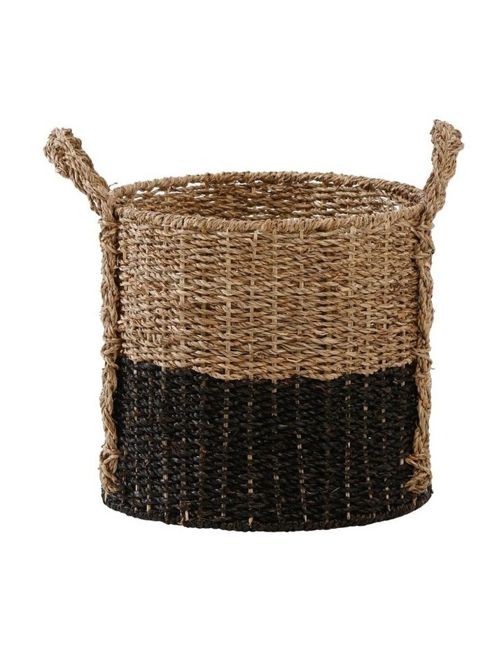 Two-tone Seagrass Basket image 4