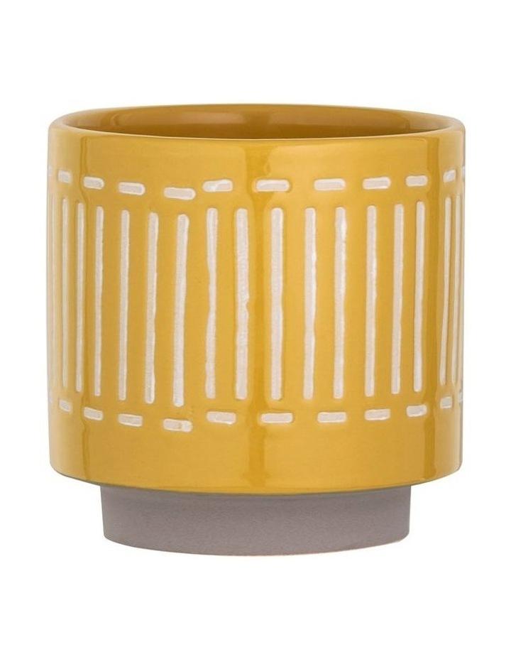 Bailey Pot Mustard 17x17x17cm image 1