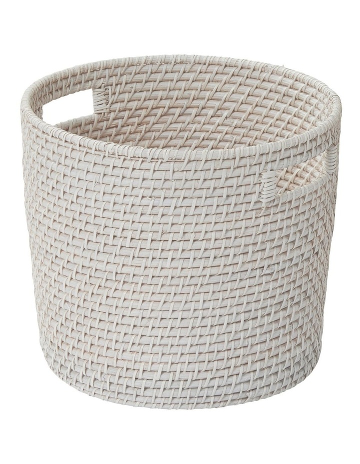 South Hampton Basket White Wash image 1