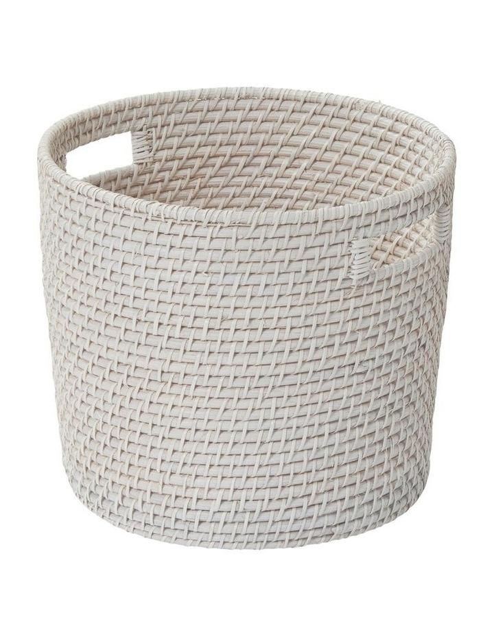 South Hampton Basket White Wash image 1
