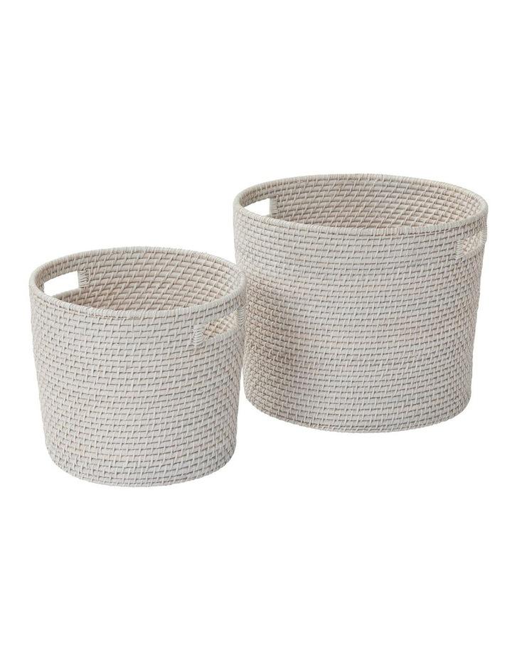 South Hampton Basket White Wash image 2