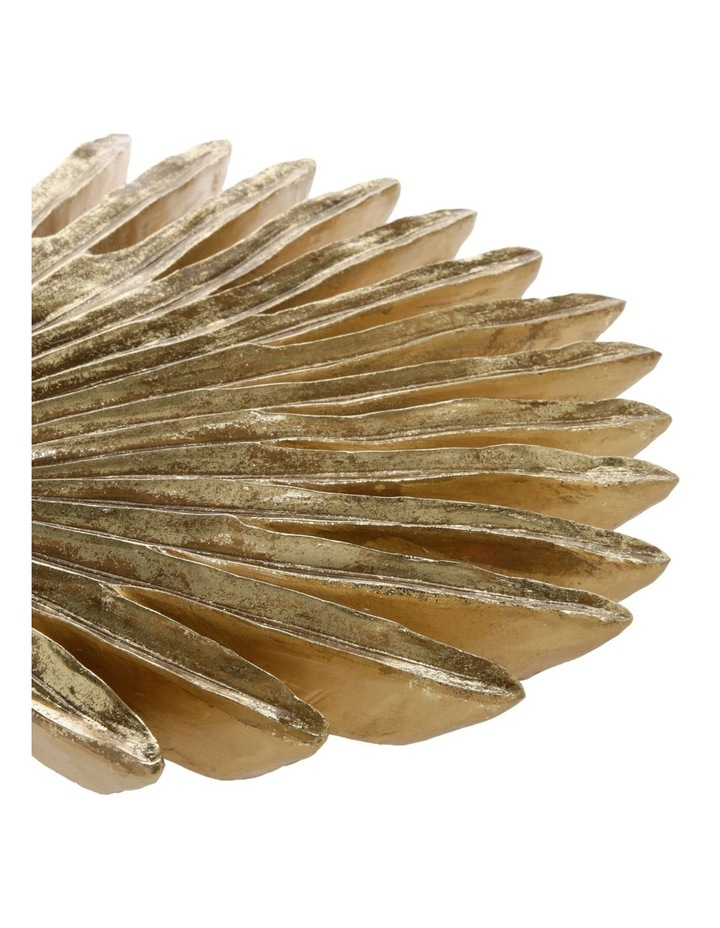 Gold Palm Leaf Wall Art image 2