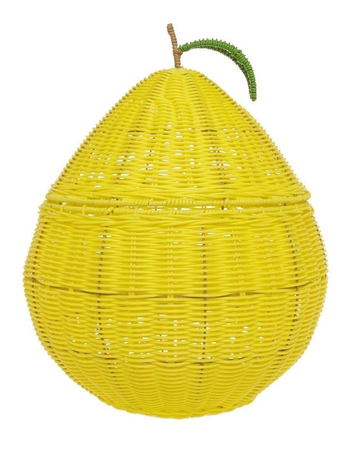Lemon Shaped Storage Basket 55cm image 1