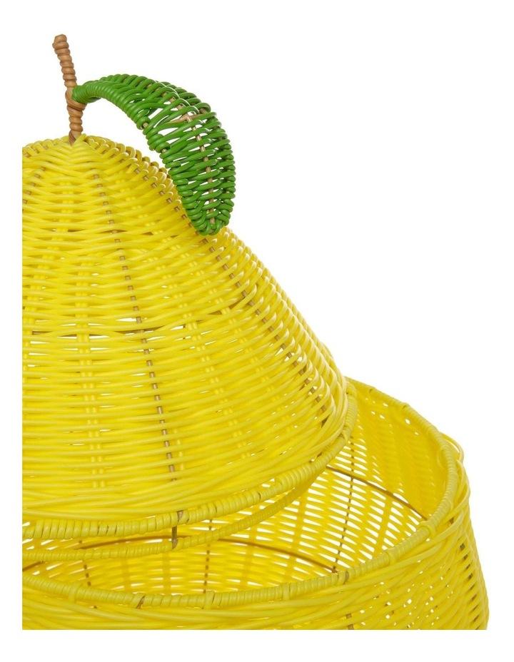 Lemon Shaped Storage Basket 55cm image 2