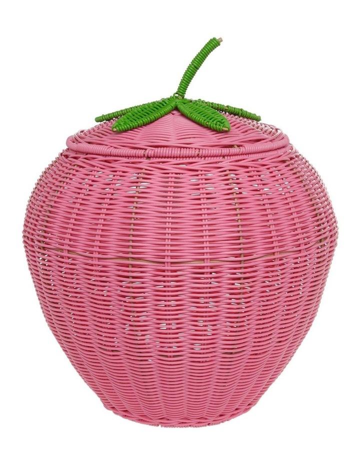 Strawberry Shaped Storage Basket 55cm image 1