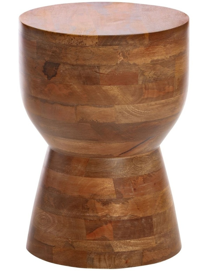 Mango Wood Accent Table image 1