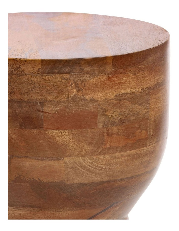 Mango Wood Accent Table image 2