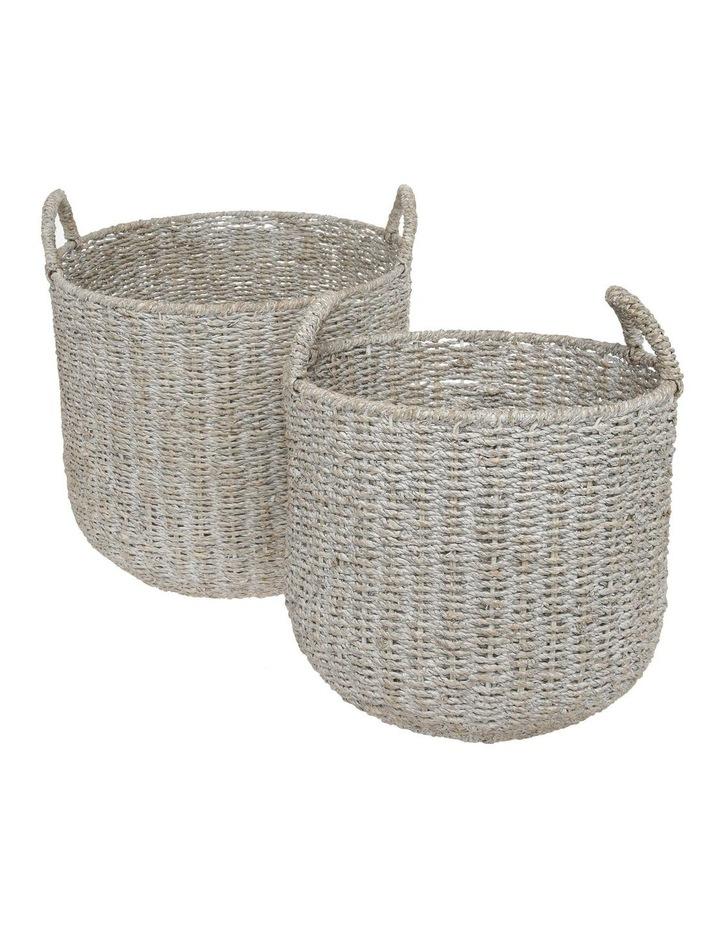 Whitehaven Rattan Basket 30cm image 3