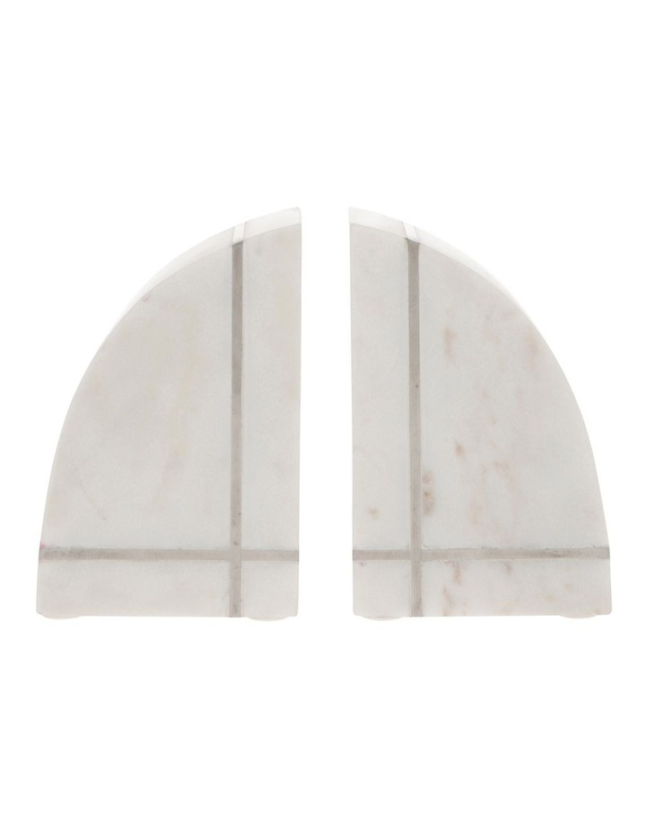 Edward Marble Bookends 15cm image 1