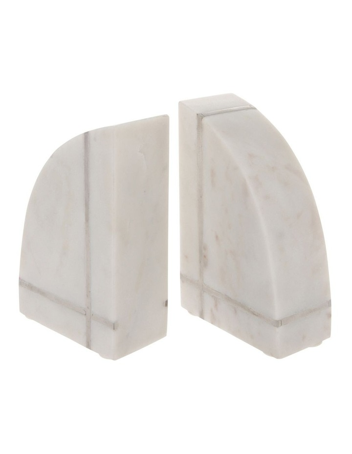 Edward Marble Bookends 15cm image 2