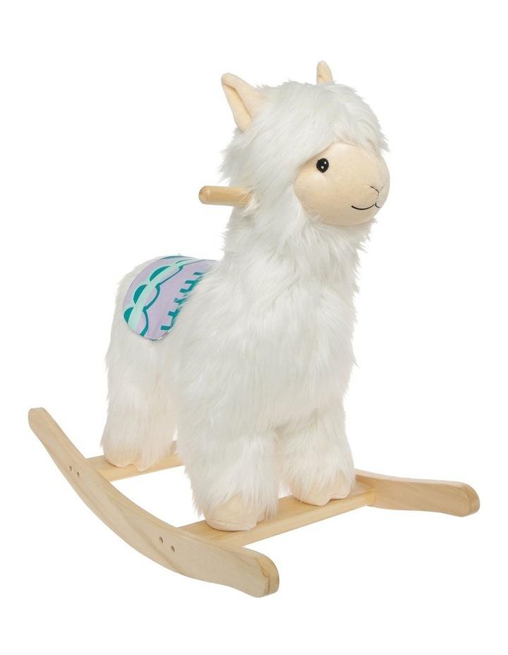 Allie the Alpaca Plush Rocker image 2