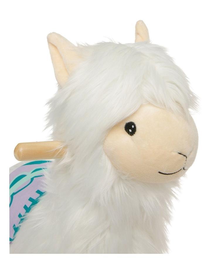 Allie the Alpaca Plush Rocker image 3