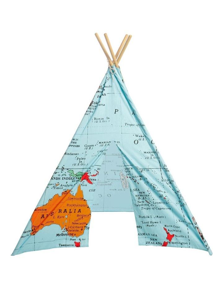World Map Teepee image 1