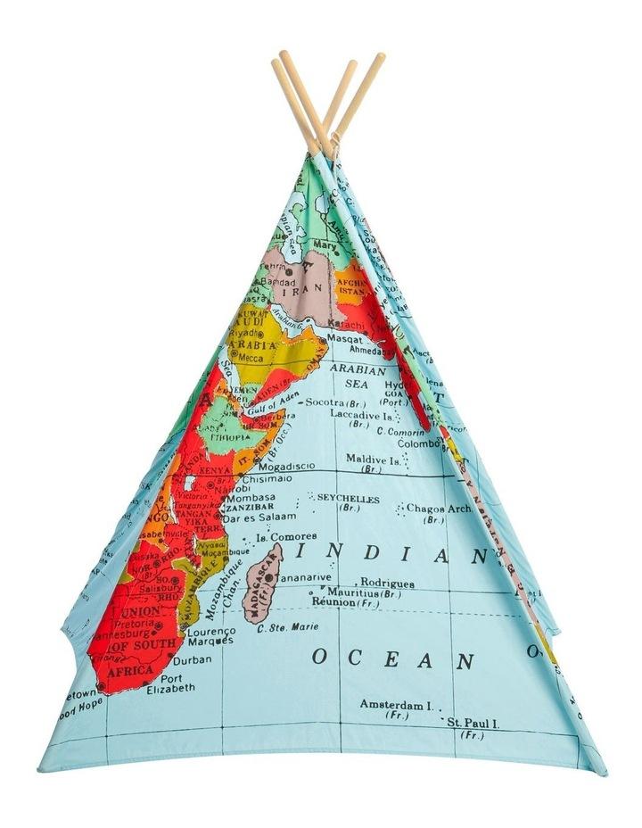 World Map Teepee image 3