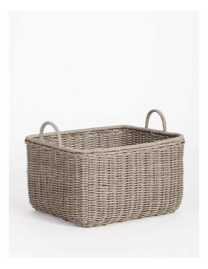 Giovanni Grey Basket 51x43cm image 2