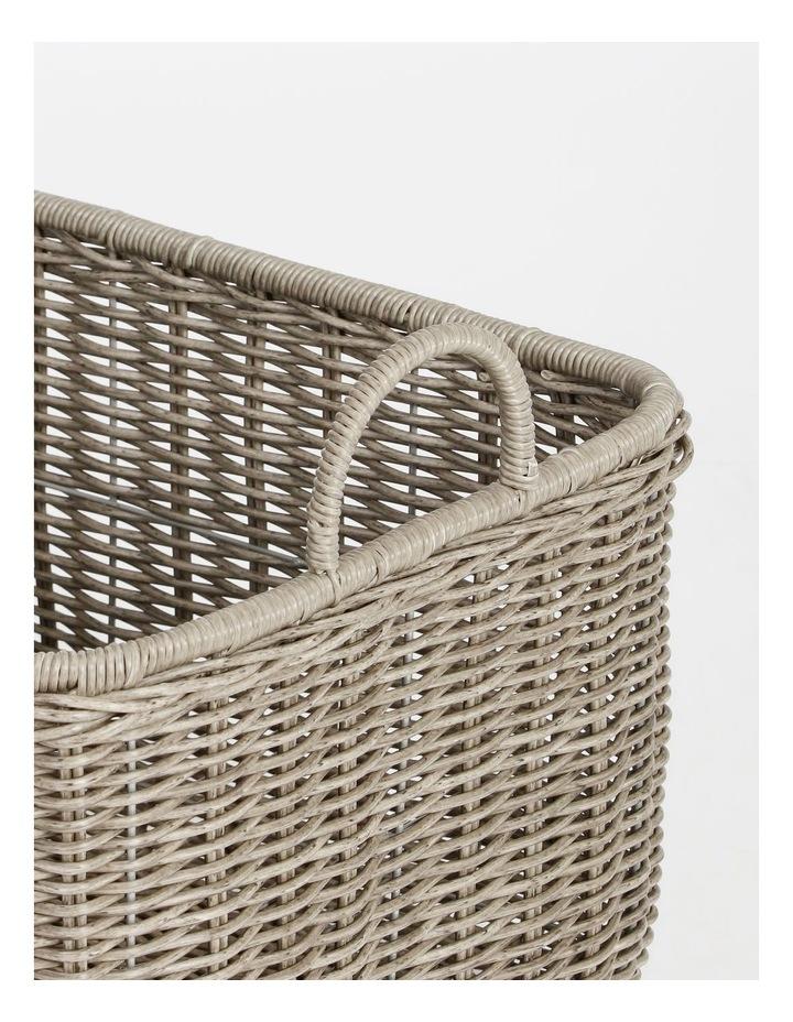 Giovanni Grey Basket 51x43cm image 3