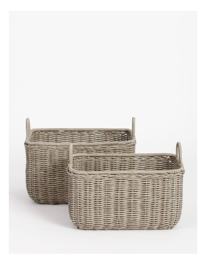 Giovanni Grey Basket 51x43cm image 4