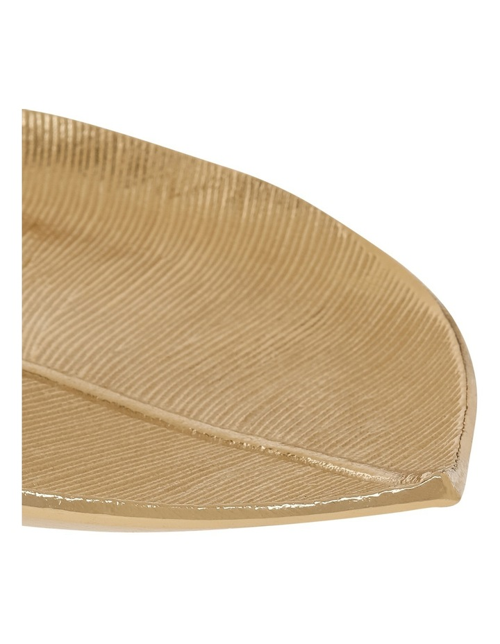 Gold Decorative Leaf Platter 32cm image 2
