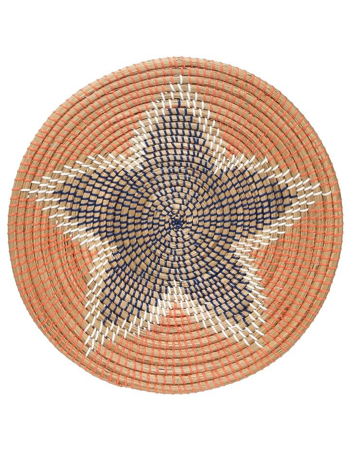 Seagrass Decorative Plate 46cm image 1